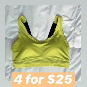 MyProtein Intimates & Sleepwear - 4 for $25   MyProtein Neon Yellow Sports Bra